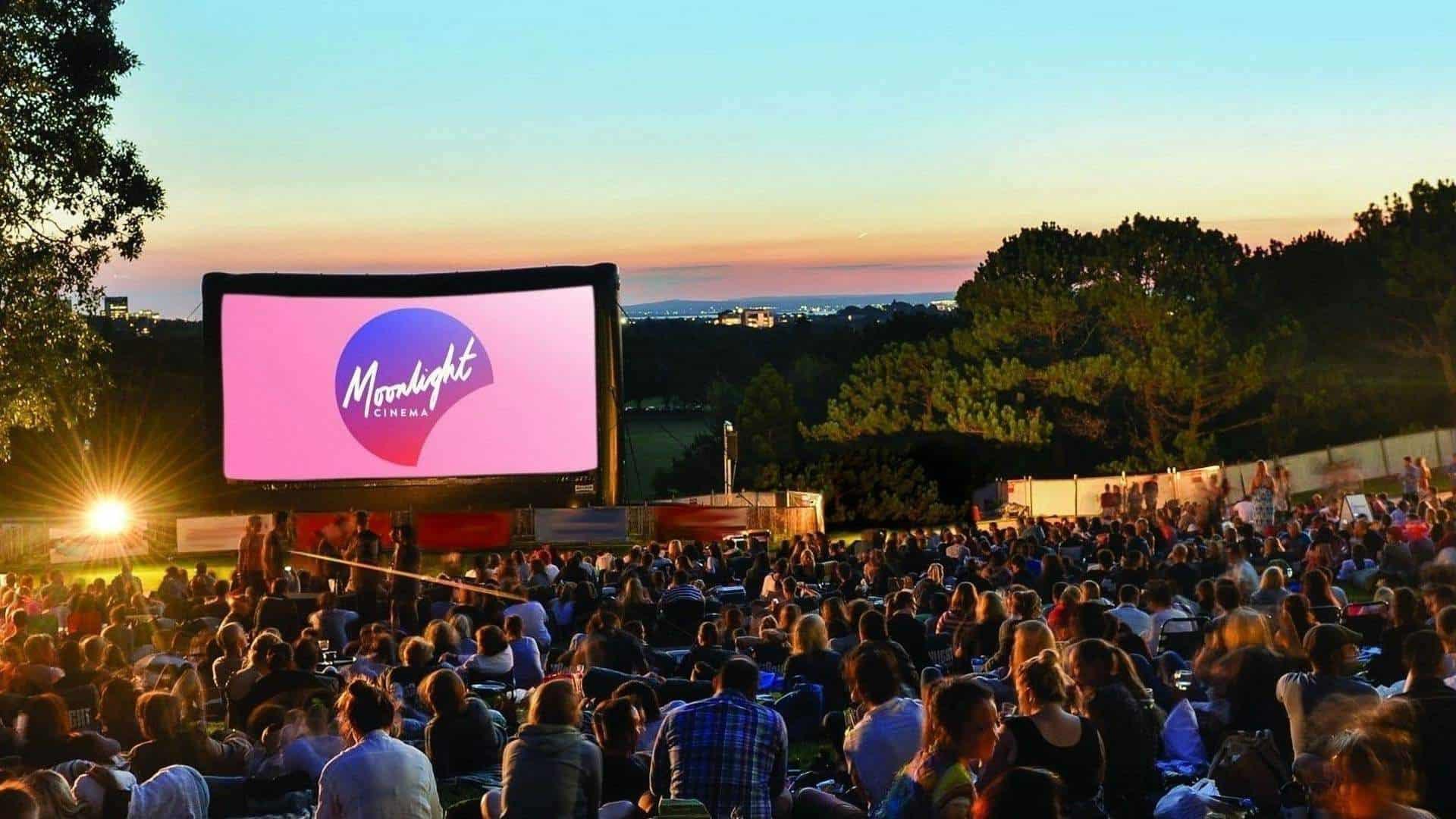 Enjoy movies under the stars at the Moonlight Cinema