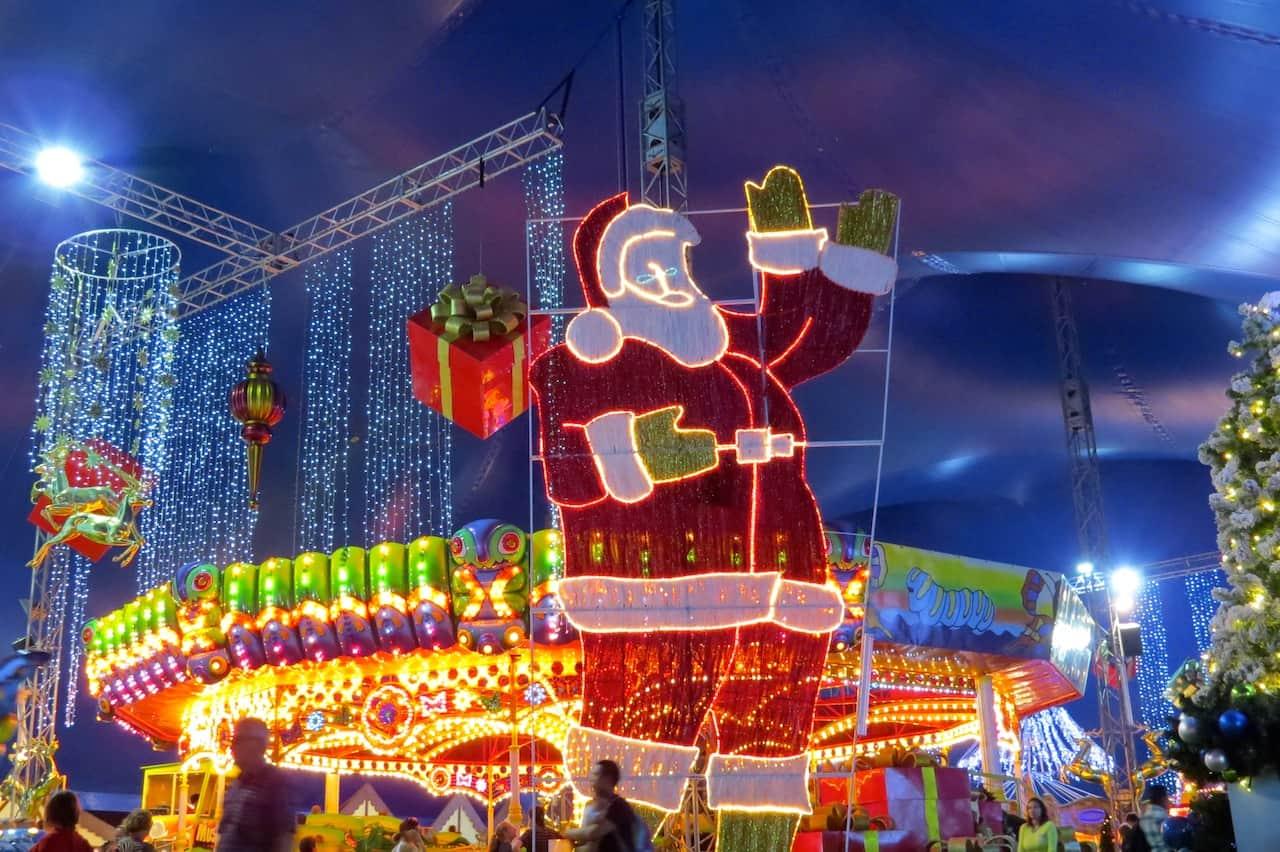 Experience the magic of Christmas at Santa's Magical Kingdom