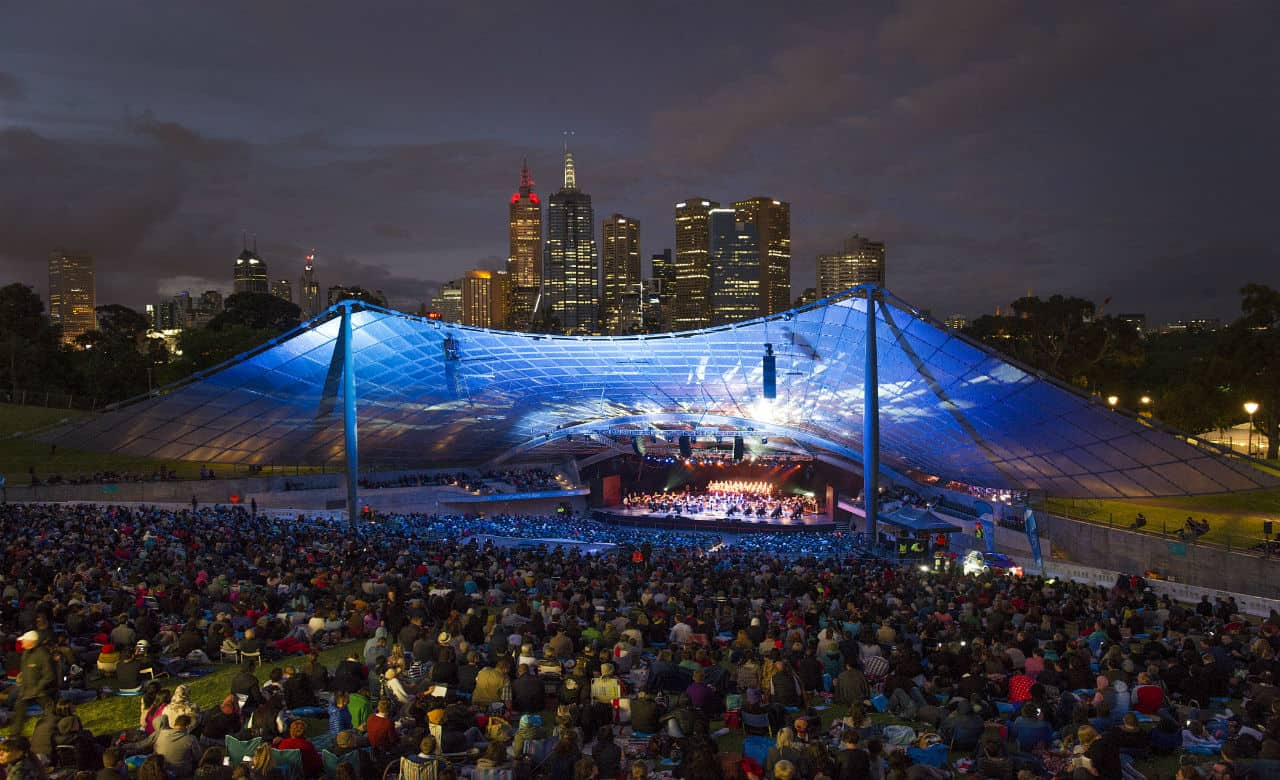 Let your hair down at the Sidney Myer Free Concert