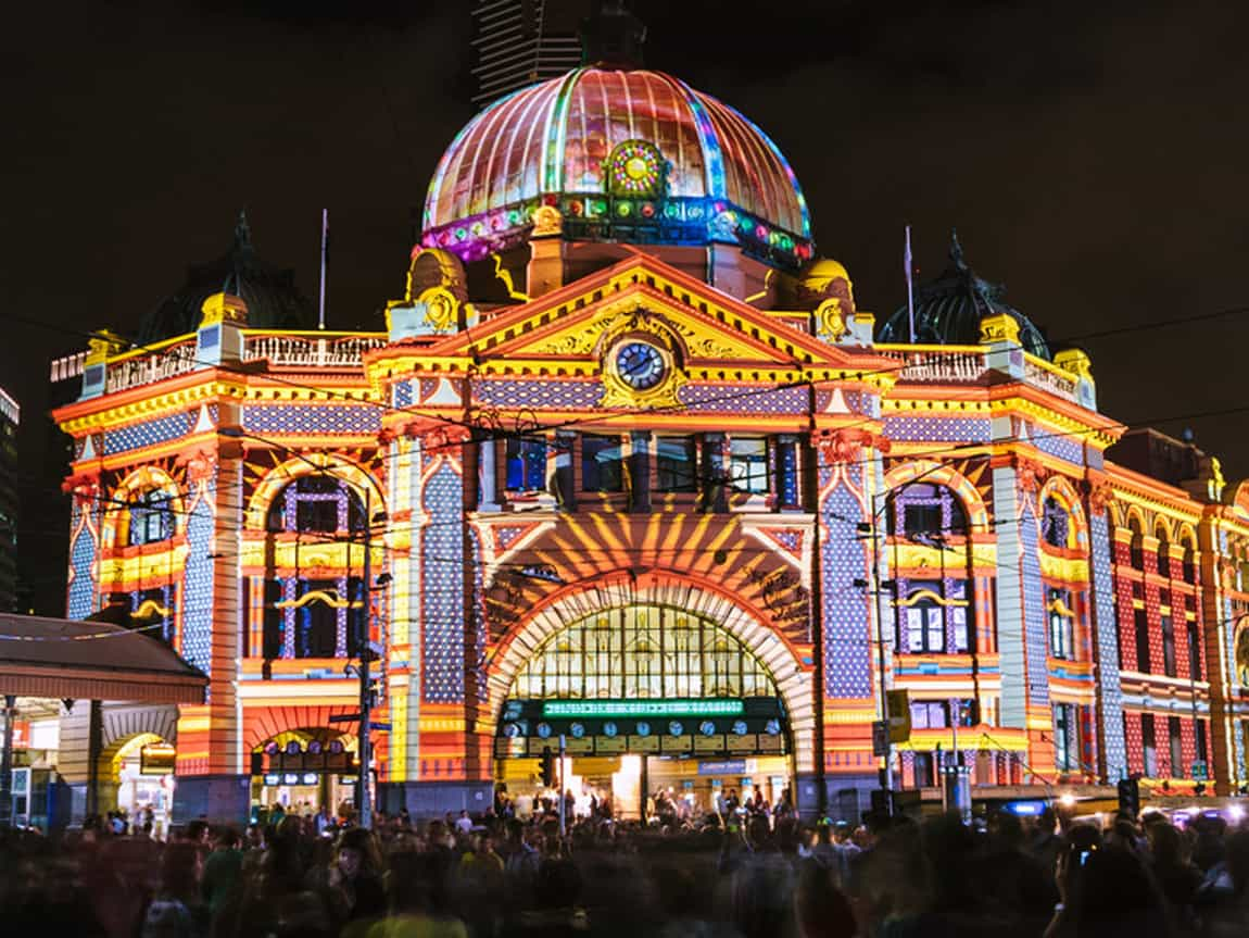 Discover Melbourne by night at White Night Melbourne